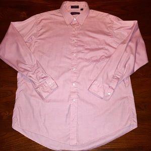"DIOR Le Chemise XL 17"" 34-35 Pink Button Up Shirt"